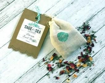 Organic Facial Steam - Anti-acne Facial Steam - Organic Flower Sachet - Natural Skin Care - Deep Pore Cleansing