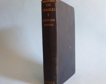 The Venables by Kathleen Norris 1941 Vintage Navy Blue Book
