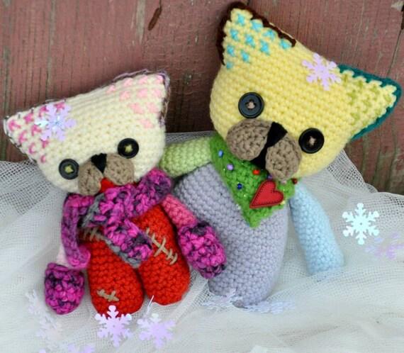 Amigurumi Bulldog Pattern : Colorful Doggies Crochet French Bulldog Amigurumi Crochet