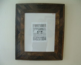 Rustic Barnwood 16 X 20 Fancy BarnWood Picture Frame, Very Rustic, Brown / Wall Art