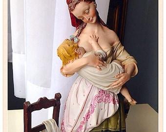 Capodimonte statues