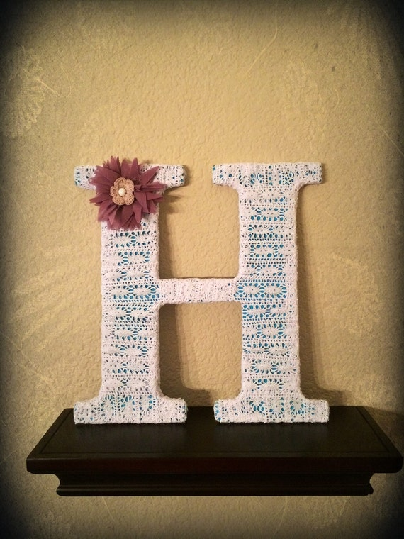 Custom Made Decorative Letters-Letter H by by ...
