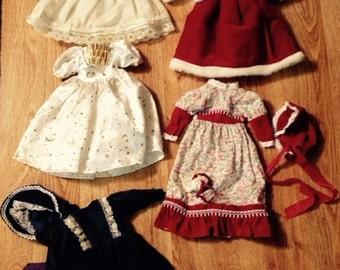 Vintage Doll Dresses - LOT 5