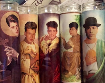 New Kids on the Block NKOTB Prayer Candles