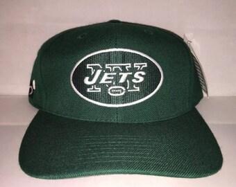 Vintage New York Jets Sports Specialties Snapback hat cap rare 90s nwt NFL football