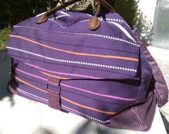The great getaway bag purple