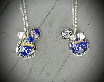 Kansas City Royals Necklace Trio
