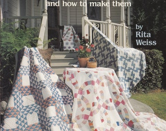 Patterns For Quilting - Grandmother's Quilts & How To Make Them - Quilting Pattern Book - Quilt Patterns