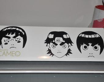 Naruto Anime - Rock Lee faces