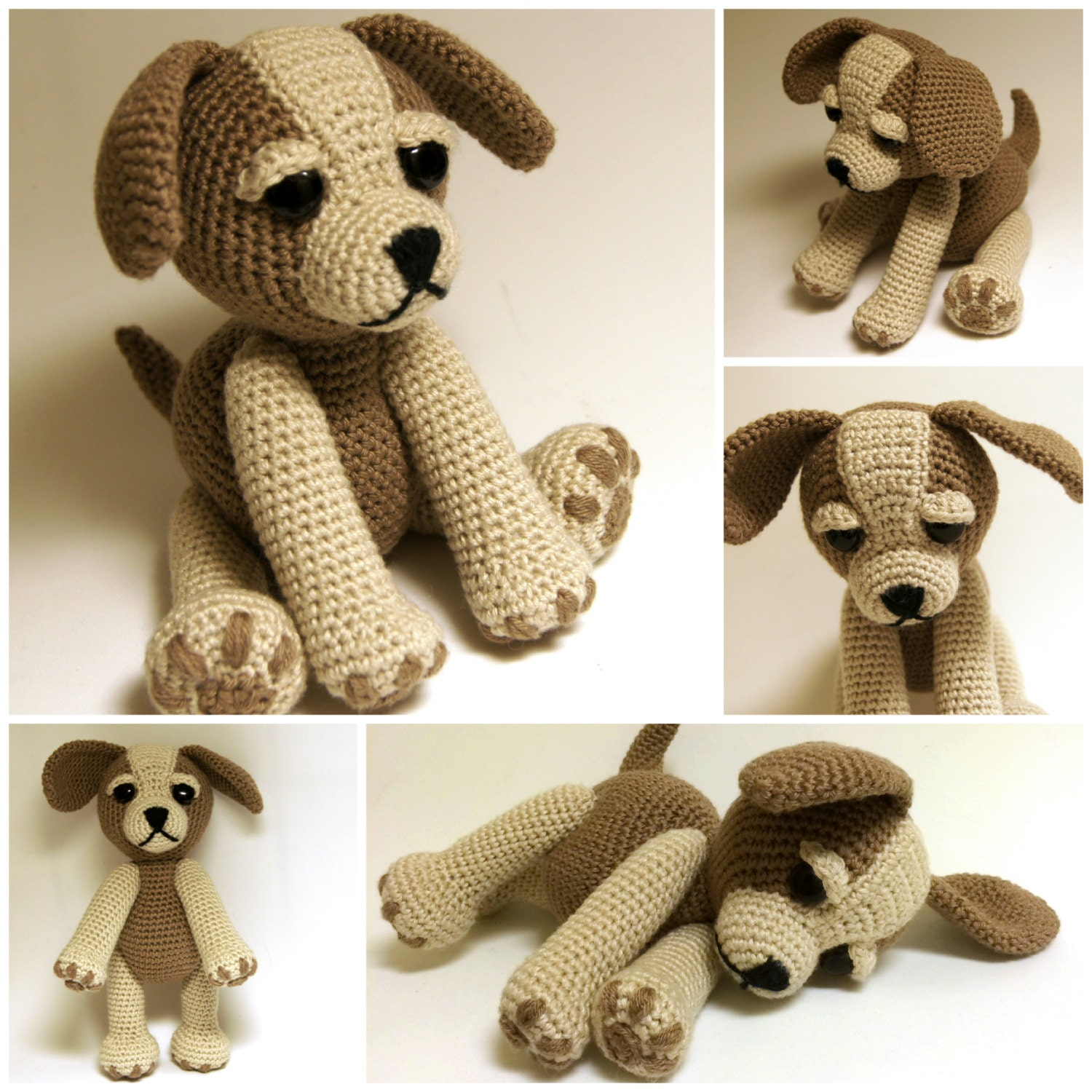 Crochet Pattern Sammy The Puppy Dog Crochet Dog Crochet Animal