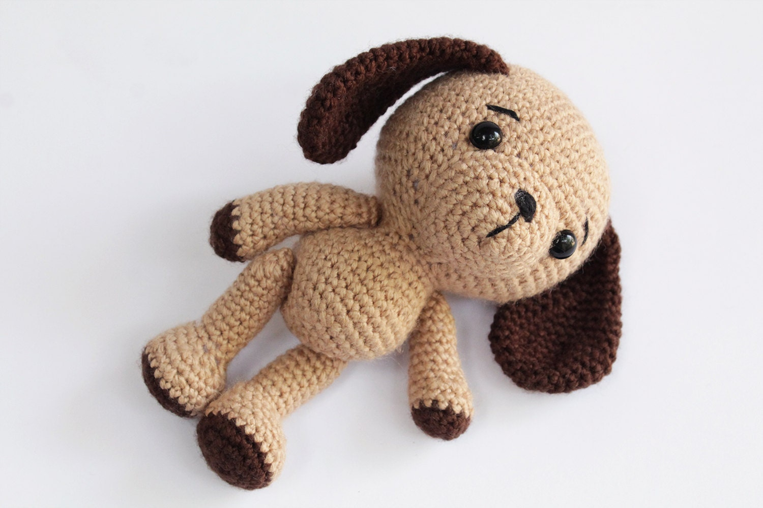 Amigurumi Dog Knitting Patterns : PATTERN : Dog Puppy Amigurumi dog pattern Crochet