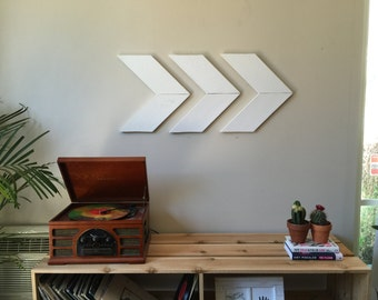 Wood Arrow/Chevron Wall Art