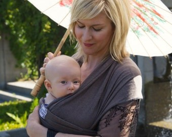 Hemp/Organic Cotton Light Wrap Baby Carrier