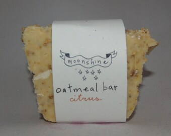 Oatmeal bath bar soap - Citrus