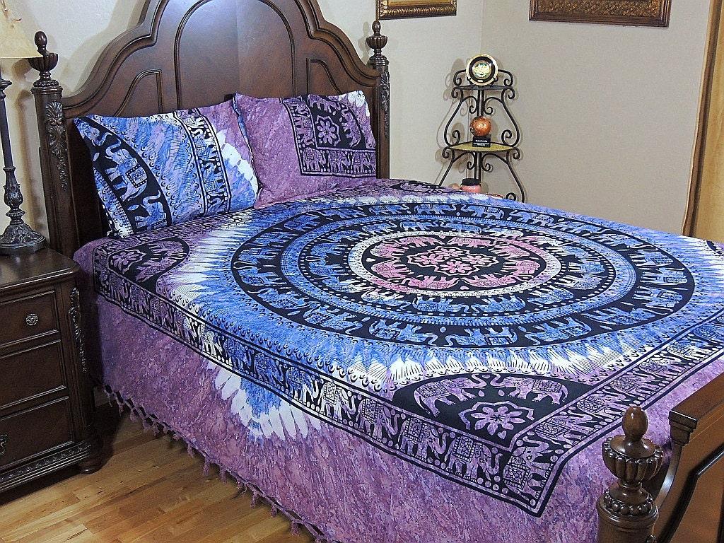 Mandala Bedding Bohemian Bedding Mandala Cotton Bed Sheet Set From By Novartsy