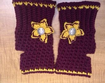 Fightin' Gloves Women's Fingerless Gloves/Wrist Warmers