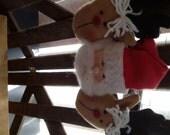 Santa reindeer hanging