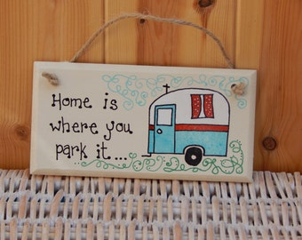 Caravan sign, Campervan sign, Gifts for parents, Gifts for her, Gifts for him, Caravans, Motorhome, Grandparent gift