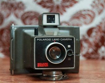 Vintage Polaroid Square Shooter Land Camera