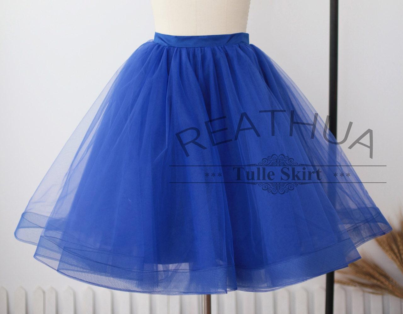 royal blue horsehair tulle skirt tulle skirt tutu