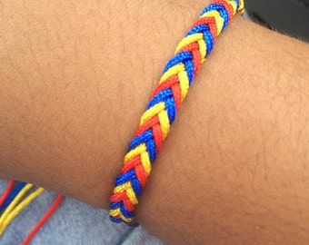 Bracelet braided 3 colors