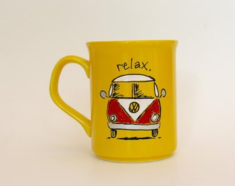 Relax- VW Microbus Mug