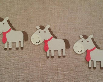 Horse Die Cut set of 3