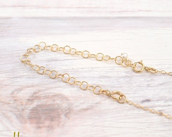 Delicate Gold Filled Extender