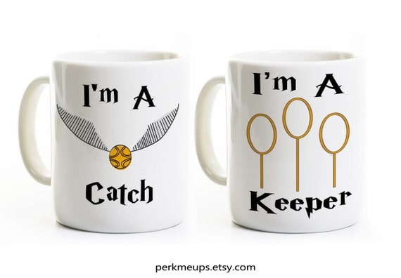 Funny His And Her Wedding Gifts : ... Gift for Couples - His and Her Anniversary Wedding Gift - Coffee Mugs