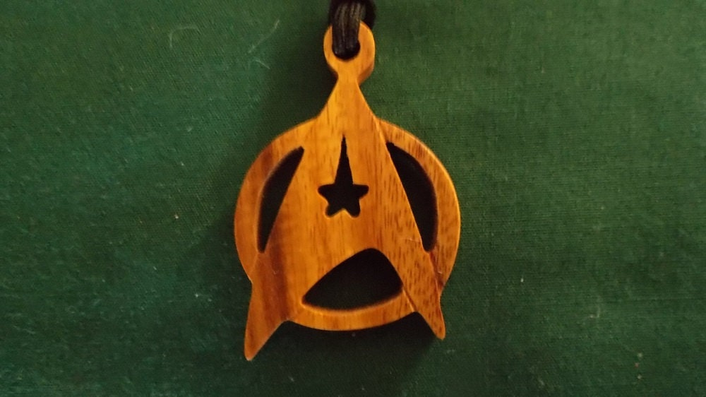 star trek jewelry star trek symbol next generation pendant