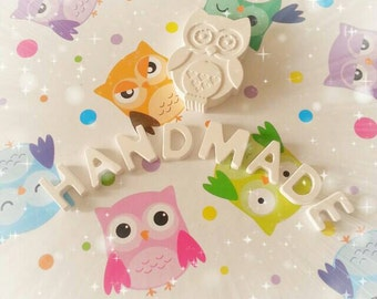 OWL shaped scented chalks