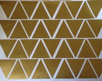 Vinyl Triangle Wall Decals - Nursery - Bedroom - Living Room