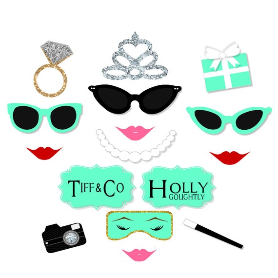 Bridal Shower inspired Photo Booth Props Printable