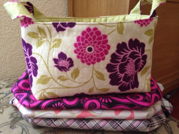 Fabric basket for storage - Reversible