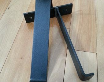 Metal Shelf Brackets - Shelf Bracket - Steel Shelf Brackets - Iron Shelf Brackets - Industrial Shelf Brackets - Rustic Shelf Brackets