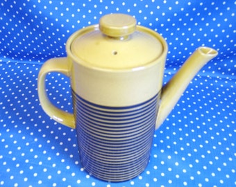 Honey Black Sark TG Green coffee pot designed by Judith Onions