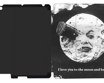 I Love You to the Moon and Back Design on an Apple iPad Case ~ Available for iPad 2/3/4, iPad Mini, iPad Air, iPad Air 2