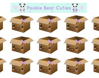 Cute Girly Parcel Stickers-059