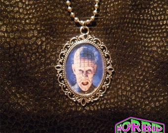 Pinhead Hellraiser Cameo Necklace
