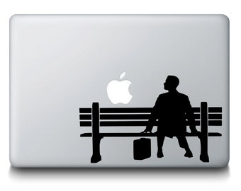 Forest Gump Movie Film MacBook Mac Apple iPad Laptop Decal Sticker