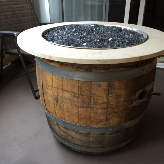 how to build a wine barrel fire pit
