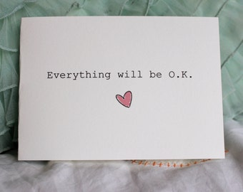 Everything will be O.K. - Card