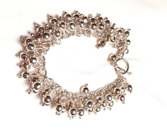 Slipada 925 sterling silver cha cha bracelet