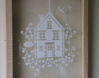 Papercut New Home Picture