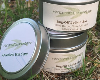 Bug-Off Lotion Bar - 3oz lotion bars for camping, hiking, and on the go!