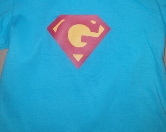 Super Hero Letter Shirt