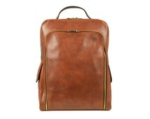 Genuine Leather Brown Backpack, Womens Backpack Premium/Mens backpack - The Sun Also Rises