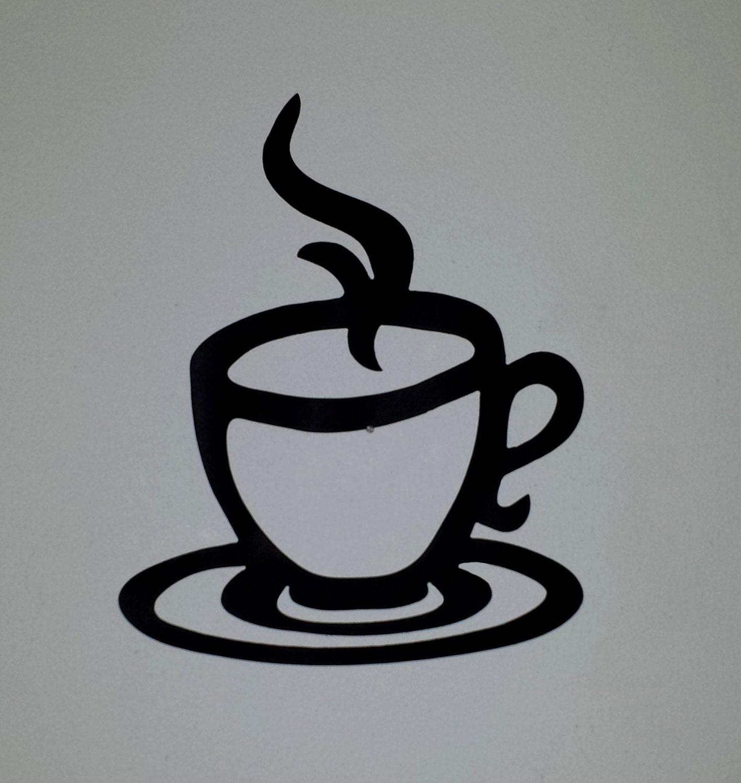 Coffee Mug Metal Wall Art