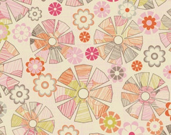 Free Spirit Jenean Morrison In My Room Lazy Afternoon PWJM070 Pink 1/4 yard to 1/2 yard
