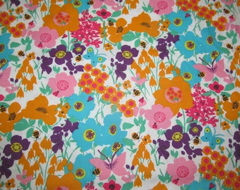 Rose & Hubble Novelty / Craft Dress 100 % Cotton Fabric Material - Floral